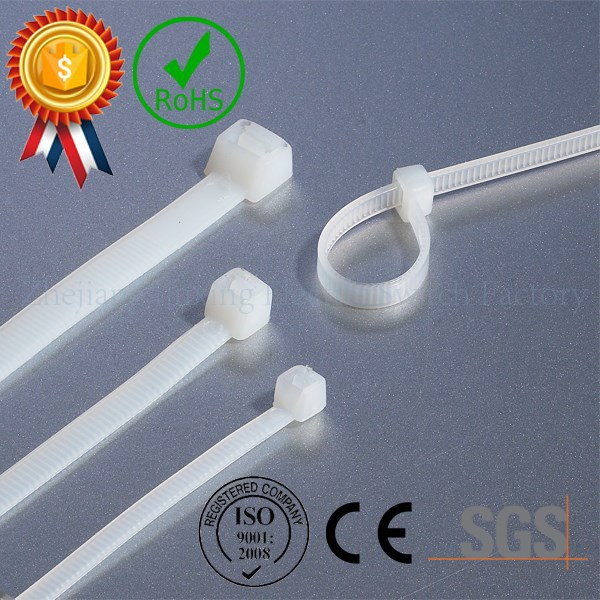 CE/SGS/ROHS/CQC/ISO approved nylon 66 heat resistance manufacturer direct selling self-locking nylon cable ties
