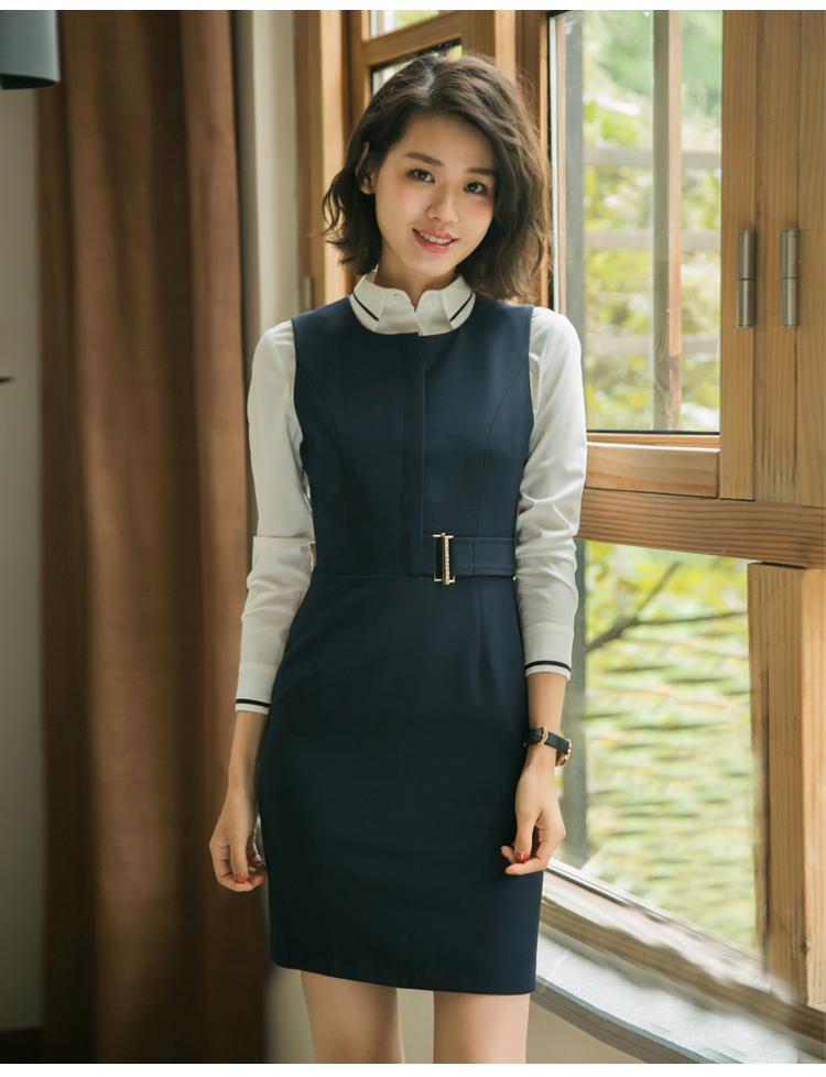 Neueste Formale Geschäfts Uniform Büro Frauen Weste Kleid Uniform Anzug 2 Stücke Für Damen Buy Neueste Kleid Designs Damen Anzug,Büro Anzüge Für
