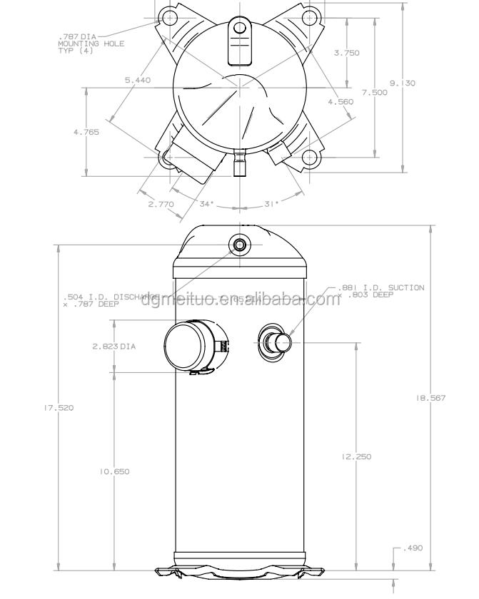 3 Phase Copeland Compressor Wiring Diagrams