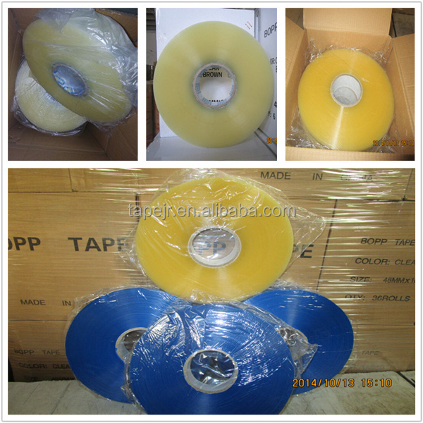 factory cheap price box sealing shipping bopp/opp packing tape 2 inch x 100yards