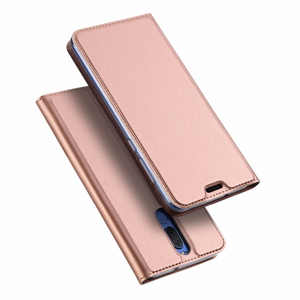 Flip Leather Case For Huawei Mate 10 Lite Stand Wallet Case For Maimang 6 Magnetic Leather Case MT-6689