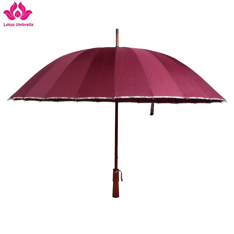 24k big size blue family umbrella for rain