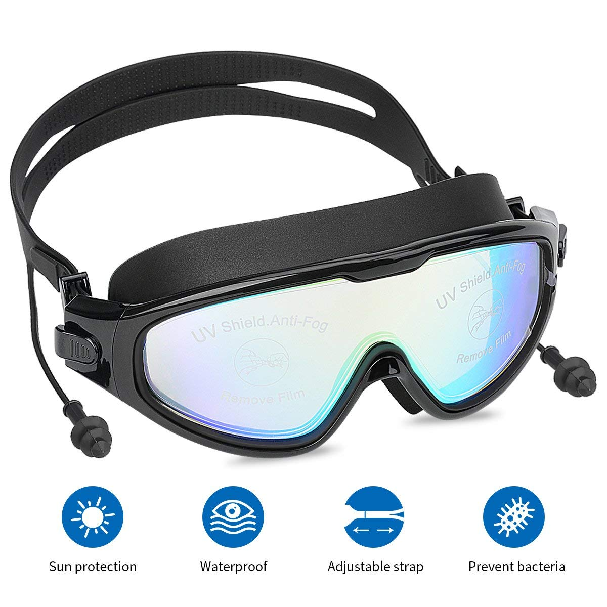 1b77dc802db2 Get Quotations · Mantispeed Swim Goggles