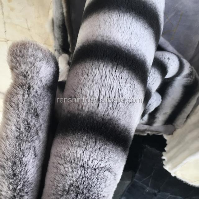 Luxury home rex rabbit fur blanket throws thick soft hairs chinchilla plate