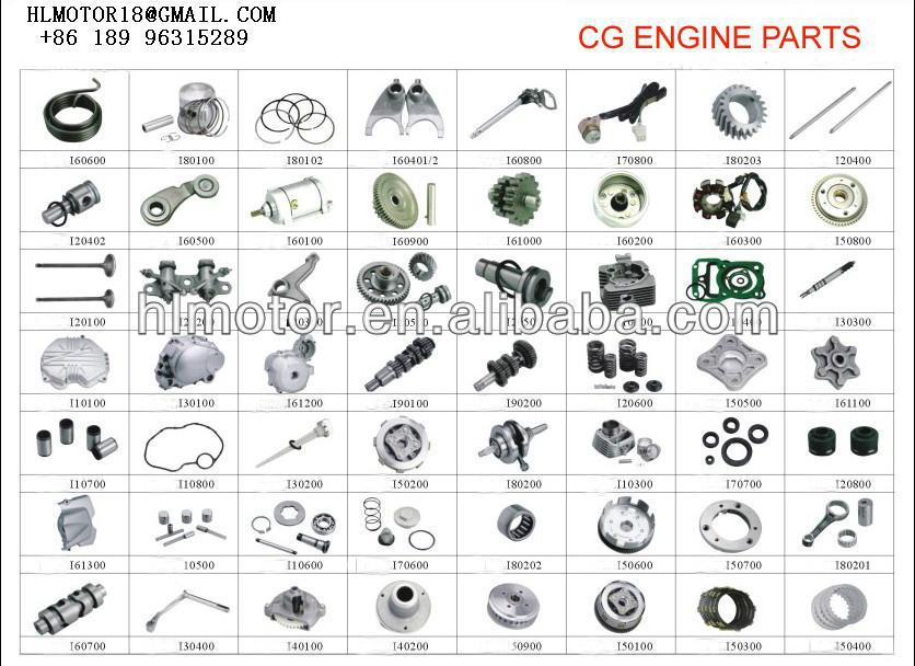 125cc 150cc Cg150 Spare Parts Engine Motorcycle Engine - Buy New ...