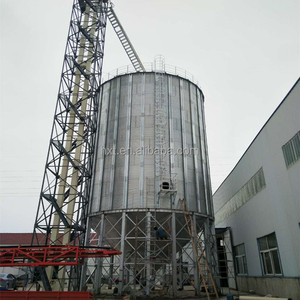 1000 ton galvanized grain storage steel silo