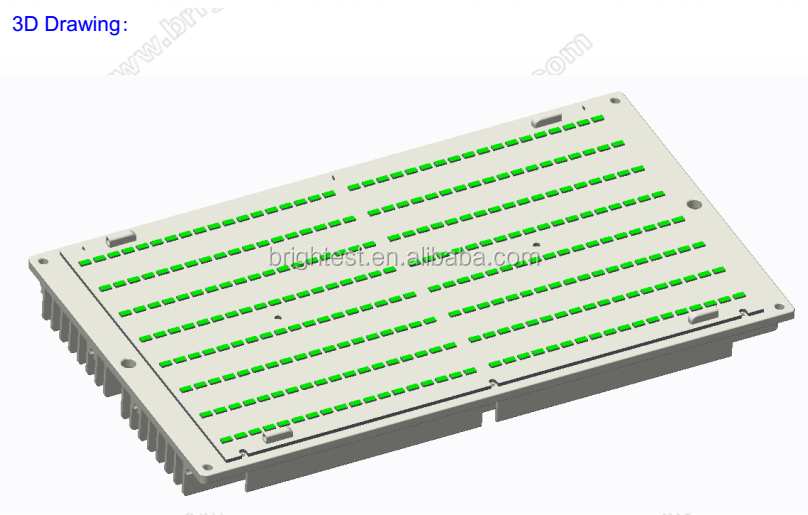 hlg driver 120w 240w s6 top bin lm561c samsung quantum board 288 led grow light