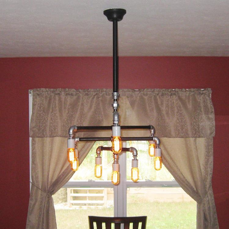 Dining Room Lighting Ikea: 2015 Lustre Lampshade Retro Lighting Industrial Water Wind