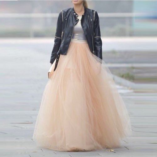 50a494c4b US $27.0 |Top Rated High Waist Long Womens Skirts Ruched Tulle Falda Tul  Mujer Cheap Adult Tutu Skirt Faldas Largas-in Skirts from Women's Clothing  on ...