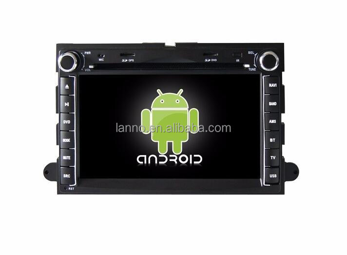 car dvd gps player stereo radio with android 4.2.2 system for ford Explorer/expedition 2 din with wifi 3g swc rearview camera