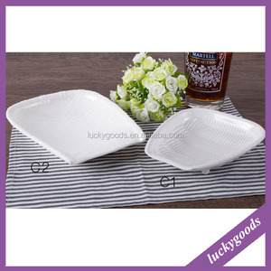 wholesale banquet hotel restaurant white porcelain ceramic plate