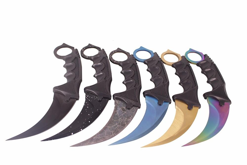 Cs Cold Cs Go нож для выцветания Karambit Csgo ножи