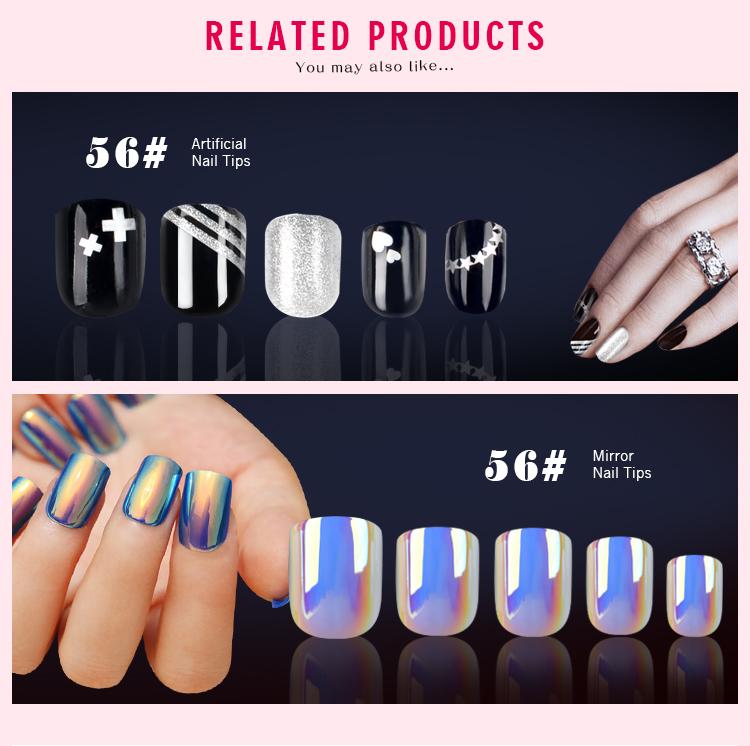 Ea Salon Nail Tips New Design Fake Nails Salon Hot Sale Abs Nail ...
