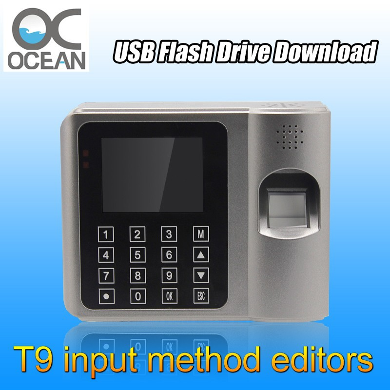 Ocean OC009 U-Disk USB TCP/IP ID Card Time Recorder Finger Scanner Time Attendance