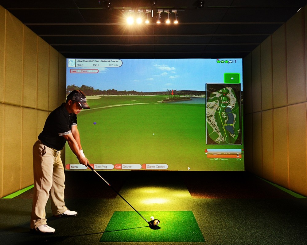 PGM Screen Golf Simulator Price