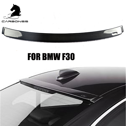 Real Carbon Fiber Rear Window Roof Spoiler AC Type For BMW 2013-2017 3Series F30