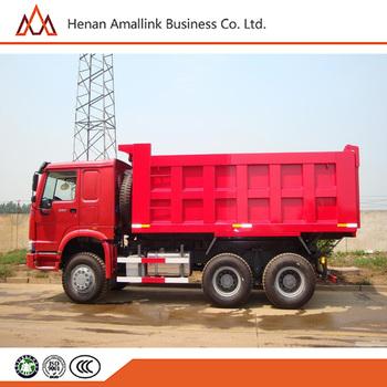 HONGDA JYC6250ZLJSX10 10 20T Sinotruck Dump Truck Dumper 4x2 In Pakistan