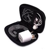 Atacado de moda à prova d' água bonito em branco sublimação personalizado impressão do logotipo chaveiro mini zipper neoprene bolsa tecido moeda