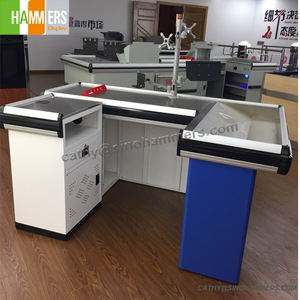 HMS supermarket checkout counter retail store checkout counter supermarket cashier checkout counter