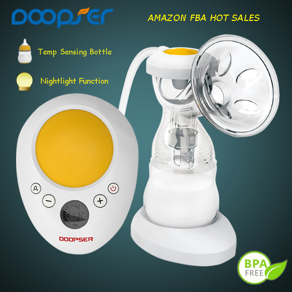 Popular and super quiet electric double breast pump lansinoh breast pump