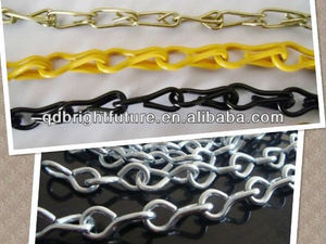 Galvanized single/double Jack chains