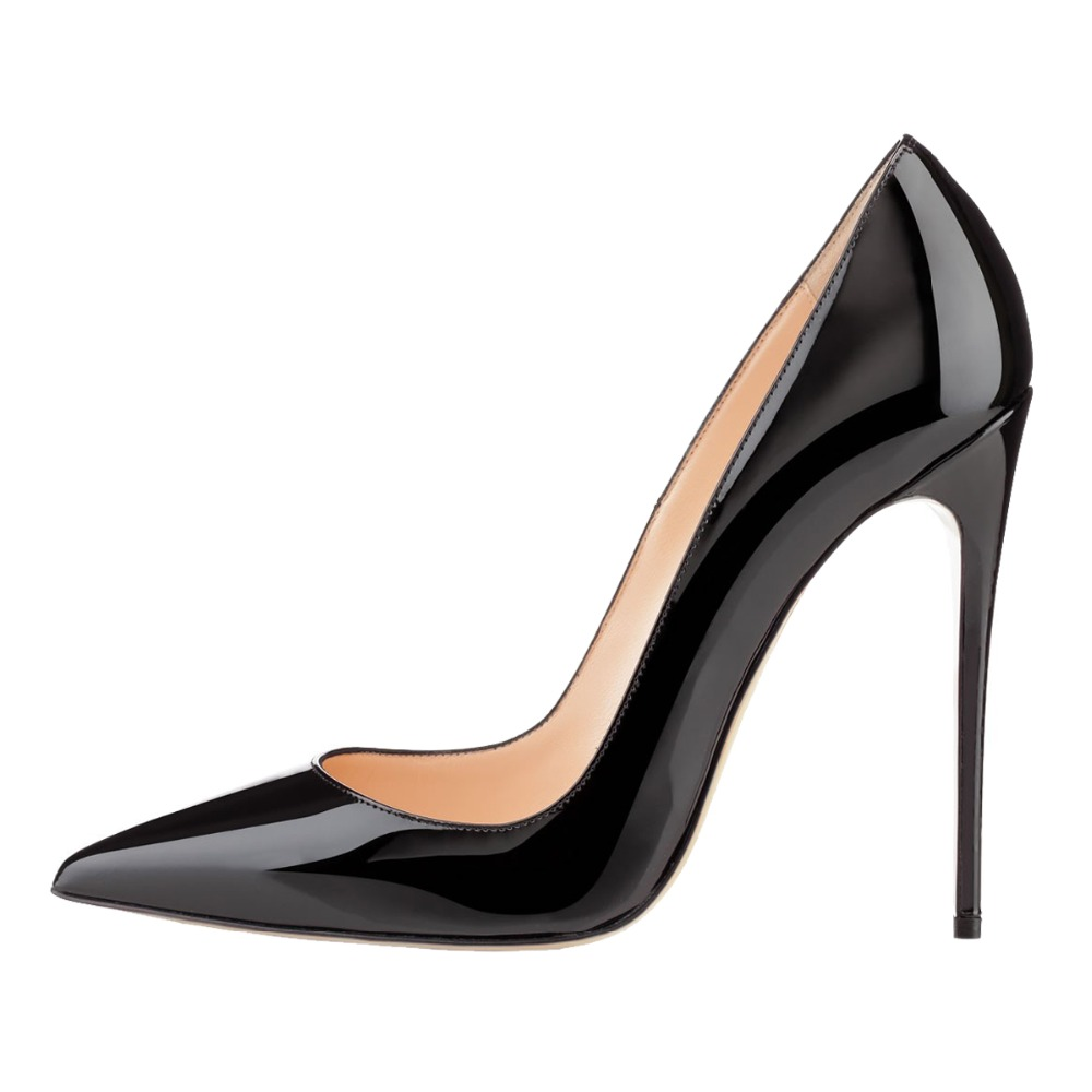 Merumote 2017 Spring Summer Autumn Patent Leather Sexy Women High Heel Dress Shoes