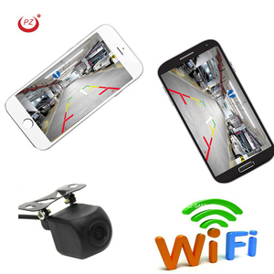 wifi car rearview backup camera reversing wireless camera