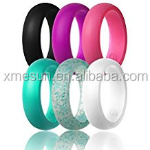 2017 Silicone wedding ring, BPA free medical grade silicone wedding band, finger band for men