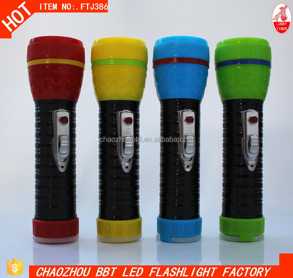 Small Head New Design Torch LED Flashlight Buy Dry Battery Tiger Fire