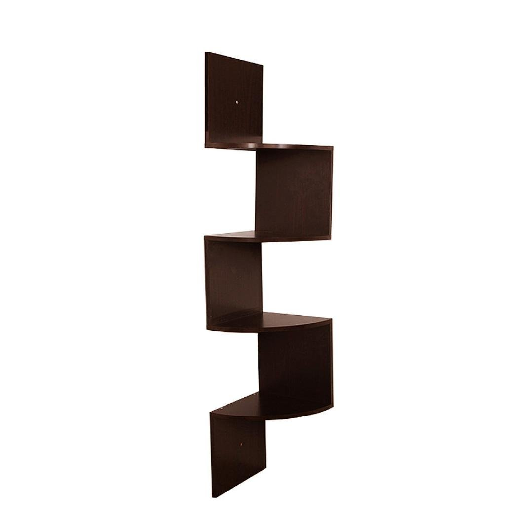 Ordinaire Get Quotations · Wall Shelves,Swyss Stackable 5 Tiers Corner Wall Shelf Zig  Zag Hanging Wall Shelves Corner