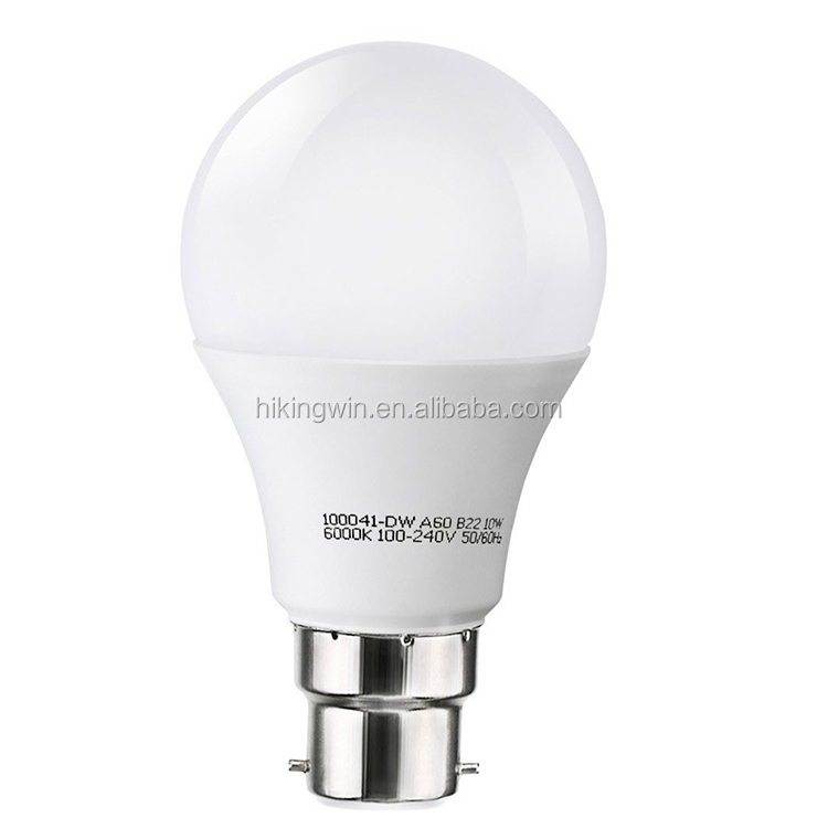 A50/A70/A60 A19 day white e27 Plastic AL Led energy saving b22 led lamp bulb