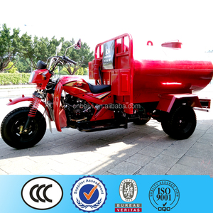2016 top selling made in china standard water tanker/oil tanker tricycle/tuk pedicab cargo 3 wheel motorcycle for sale in Egypt