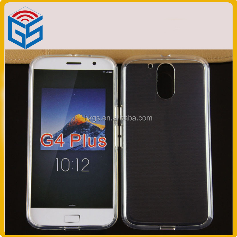 New Product 2017 Full Clear Case For Moto G4 Plus For Motorola G 4th Gen G Plus XT1625 XT1644 TPU Cover