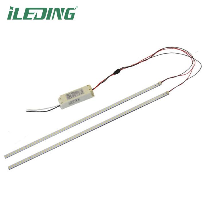 led magnetic retrofit kit 2X4 led troffer retrofit strip linear retrofit kit 32w