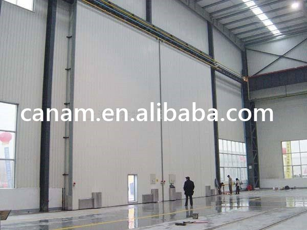 Remote control industrial sliding sectional doors