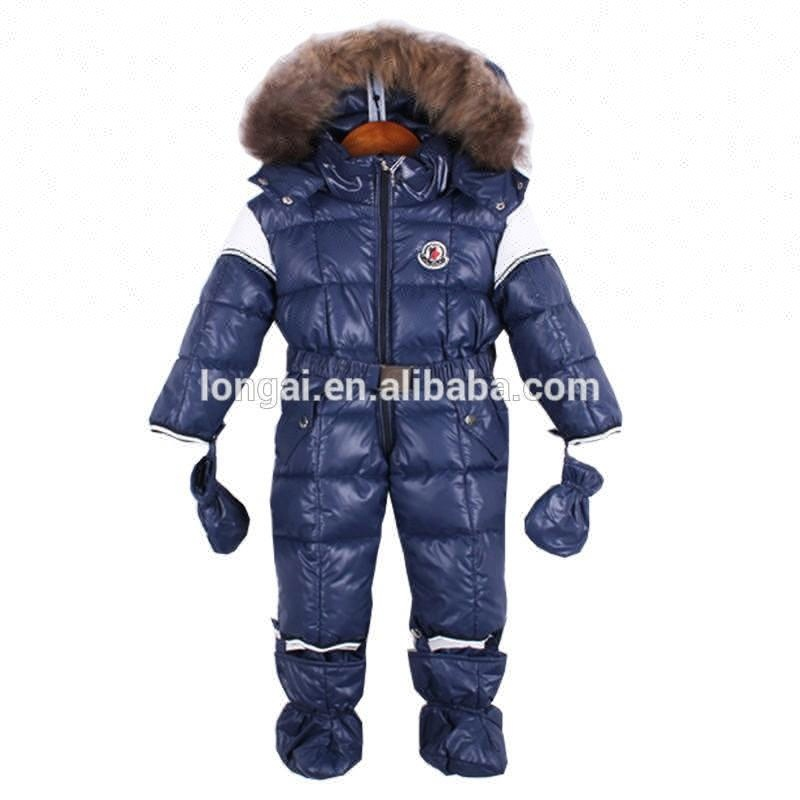 Winddicht waterdicht winter crane sport ski wear sneeuw algehele kids