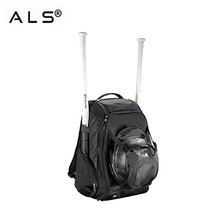 2018 New black sport backpack baseball hat travel bat bag
