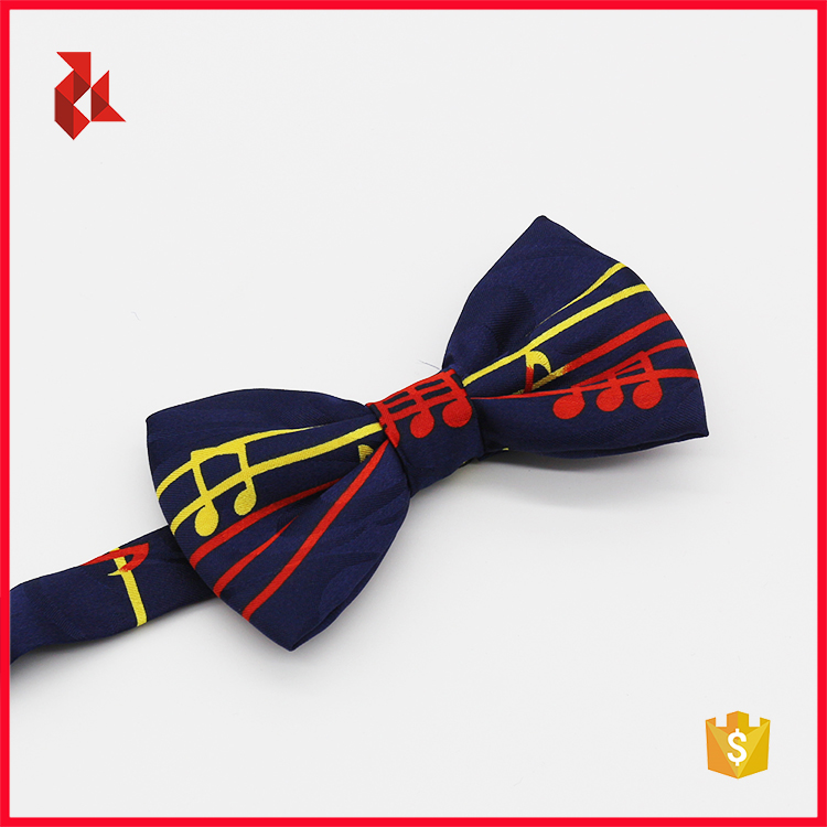 Fashion Silk Digital Print Bow Tie For Men Collection