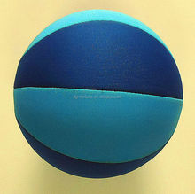 Hot sale inflatable neoprene beach basketball for kids play in pool