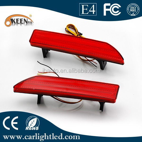 Manufacturer Car Lamp Tail Light Rear Bumper Reflectors Lights for 2009 CRV