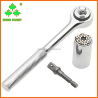 3pcs Hand Tool Magic Universal Socket Wrench