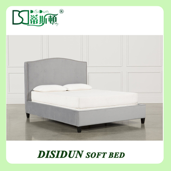 Foshan Furniture King Size Bed Frame,Fabric Bed Base Apartment/hotel ...