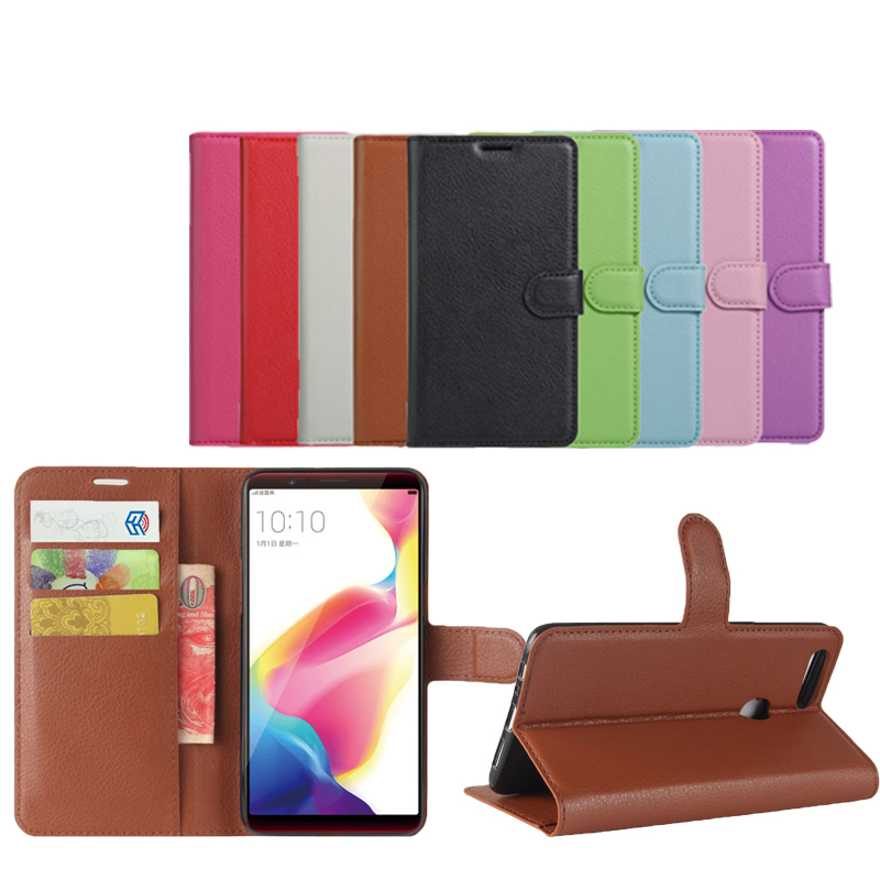 Low Price Book Style Wallet <strong>Case</strong> For Oppo R11S Flip Leather Cover