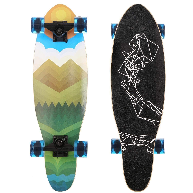 Random Pattern TelDen Professional Mini Fingerboards Cartoon Pattern Finger Skateboard Toy Kids Game