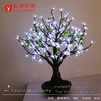 White Cherry Blossom Table Lamp Led Tree Cherry Blossom Lamp Bonsai