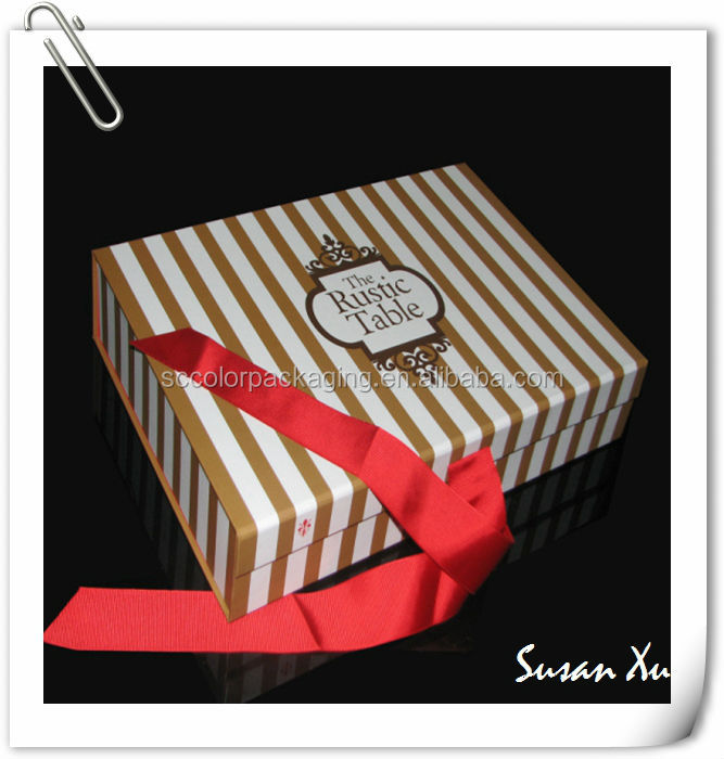 High quality organically baby cloth paper gift box