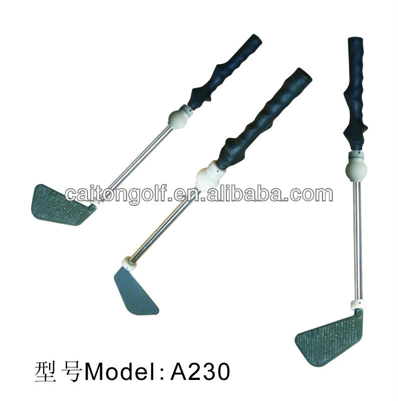 Factory bulk new design golf swing trainer , personalize golf training aids A230