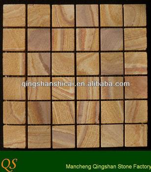 Mosaico del azulejo piedra revestimiento de la pared for Revestimiento de ladrillo decorativo
