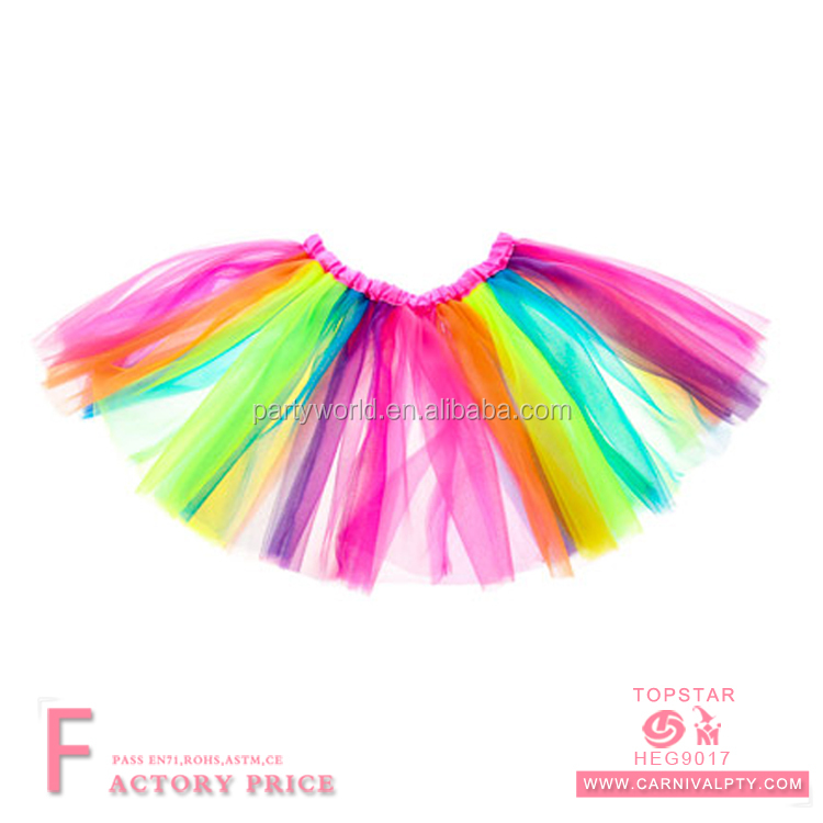 Cute dresses tutu skirt dancewear fairy tutu pettiskirt for children
