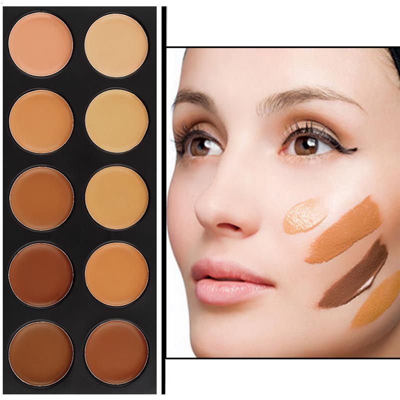 Contour eye makeup